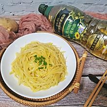 金丝万缕|把醋溜土豆丝炒的更好吃