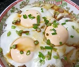 腊鸭腿蒸鸡蛋的做法
