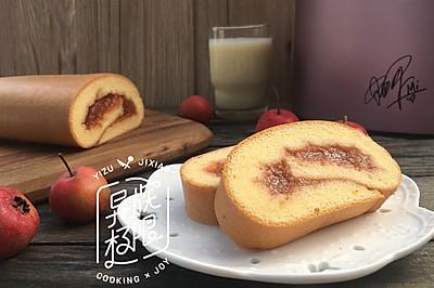 【Me制豆浆实验室】山楂蛋糕卷