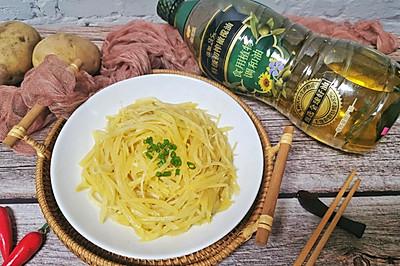 金丝万缕 把醋溜土豆丝炒的更好吃