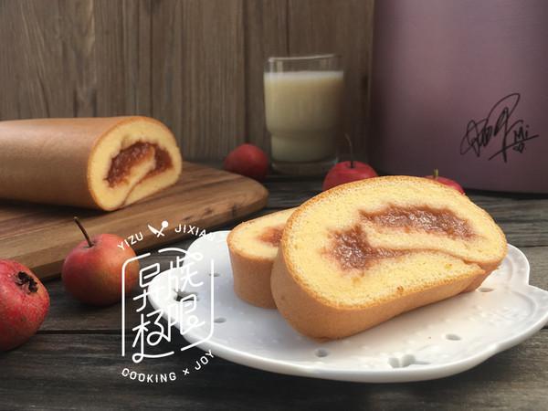 【Me制豆浆实验室】山楂蛋糕卷的做法