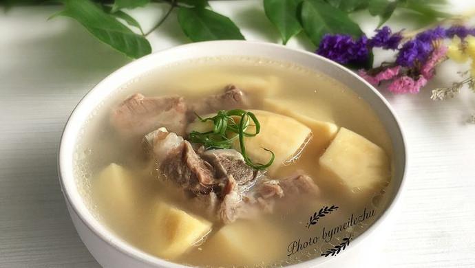 冬笋龙骨汤