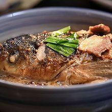 糟香鱼头汤:江南风情的鱼头汤,醒胃又醒酒!
