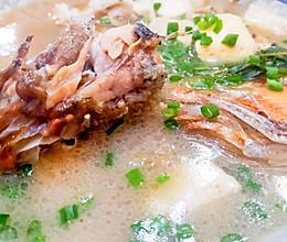 不放一粒盐的豆腐 鱼汤的做法