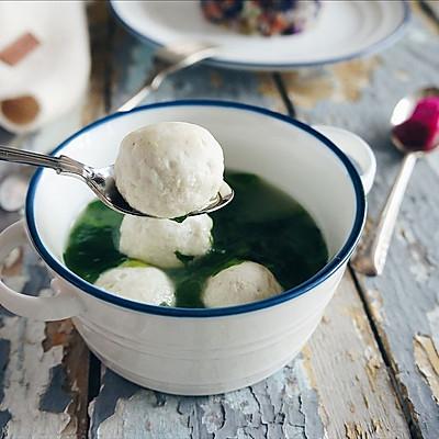 豌豆尖鱼丸汤