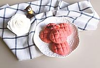 树莓麻薯夹馅曲奇的做法