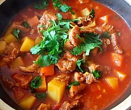 牛腩炖西红柿的做法
