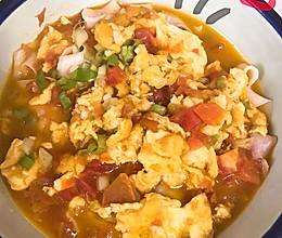 #营养小食光#西红柿鸡蛋面的做法