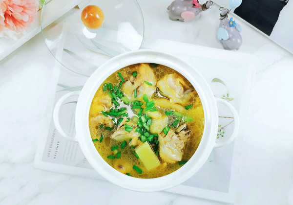 清水煮鸡汤的做法