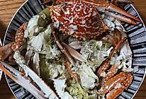 蒜蓉蒸花蟹的做法