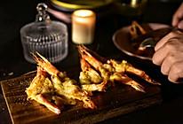 #钟于经典传统味#芝士焗海虾的做法