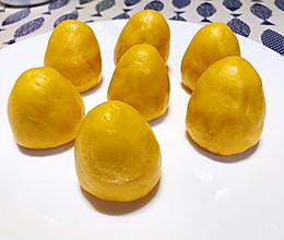可可爱爱的南瓜玉米窝头的做法