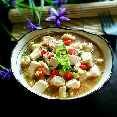 家常燉豆腐