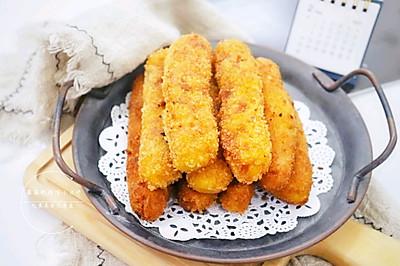 香酥软糯的南瓜豆沙卷