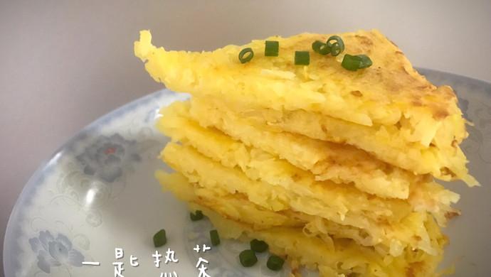 (电饼档)鸡蛋土豆丝饼