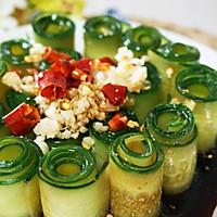 夏天还在吃拍黄瓜吗?有更高颜值好吃的【响油黄瓜】的做法图解7