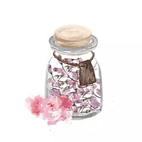 【手绘食谱】盐渍樱花 手造的暖意 任何工业化商品都比不过的做法图解4