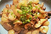 烧土豆的做法