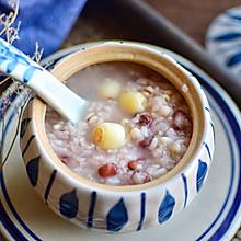 莲子红豆粥