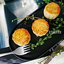 #晒出你的团圆大餐#老式豆沙月饼