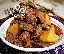 香压土豆牛肉粒的做法
