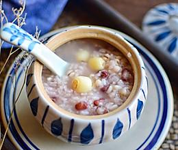 莲子红豆粥的做法