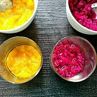 香芒火龙果酸奶杯(高颜美味)的做法图解3