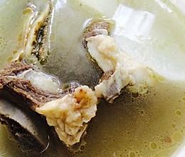 牛排骨汤的做法
