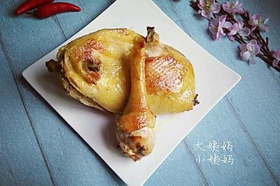 电饭锅版~盐焗鸡