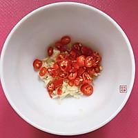 皮蛋擂椒#秋天怎么吃#的做法图解2