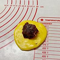 #肉食者联盟#红豆南瓜华夫饼的做法图解3