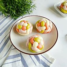 绣球红豆包-有颜值更美味