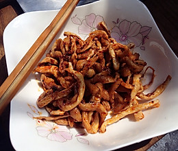 麻辣萝卜干(川味)孕妇小食的做法