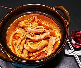 番茄辣酱煲鸭爪