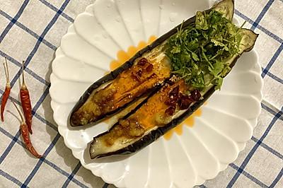 蒜泥茄子:夏日最开胃的凉拌菜,好吃不长胖