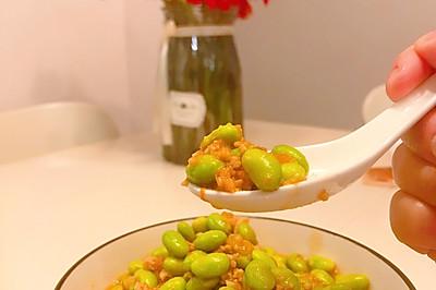 上班族营养快手菜—茄汁肉糜青豆