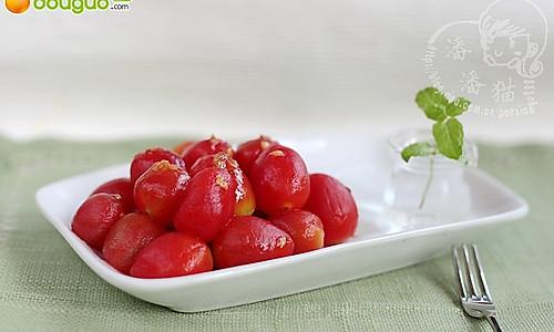 夏日里的小清新,开胃又解暑:冰镇蜂蜜圣女果的做法