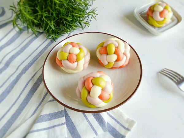 绣球红豆包-有颜值更美味的做法