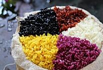 壮族天然五色糯米饭#方太一代蒸传#的做法