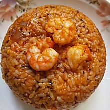 罗勒海鲜烩饭