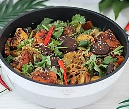 #一道菜表白豆果美食#  麻辣香锅,超好吃的下饭菜的做法