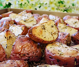 烤箱香草红皮土豆的做法