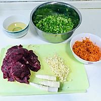#大家约饭吧#美味的牛肉水饺~牛肉胡萝卜莴笋水饺的做法流程详解6