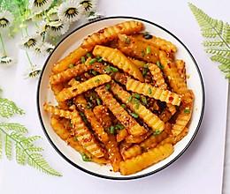 #炎夏消暑就吃「它」#凉拌狼牙土豆的做法