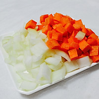 番茄年糕蔬菜汤的做法图解2