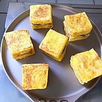 #好吃不上火#紫薯芋泥西多士的做法圖解12