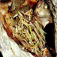 烤鲈鱼的做法图解5