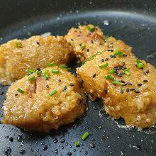 #奈特兰草饲营养美味#黄油香煎肉粽子