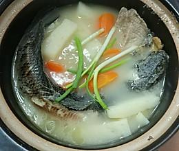 淮山生鱼汤的做法