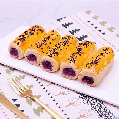❤️ 香甜紫薯卷❤️